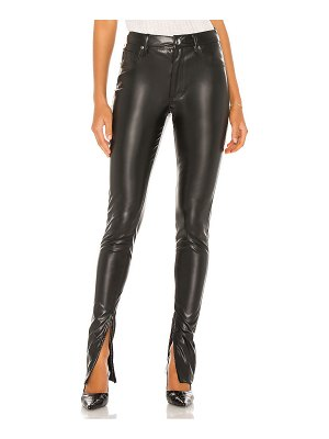 WeWoreWhat stiletto vegan leather zip pant
