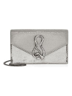 Whiting & Davis convertible serpent clutch