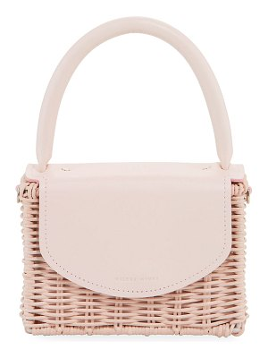 Wicker Wings Babing Woven Top-Handle Bag