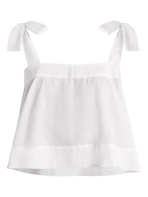 WIGGY KIT bow detail cotton cami top