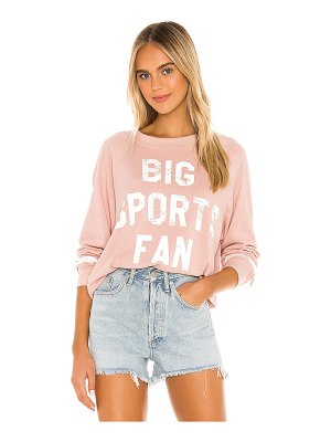Wildfox big sports fan sommers sweatshirt
