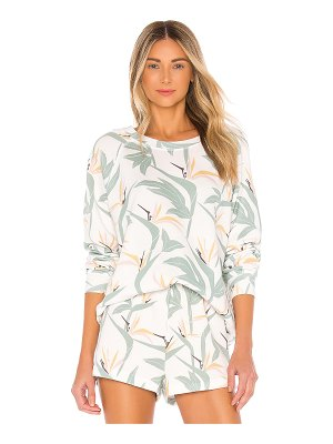Wildfox bird of paradise sommers sweatshirt