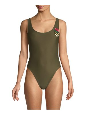 Wildfox candice one-piece swimsuit