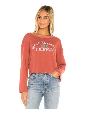 Wildfox great friends flora sweatshirt