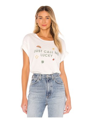 Wildfox lucky charm manchester tee