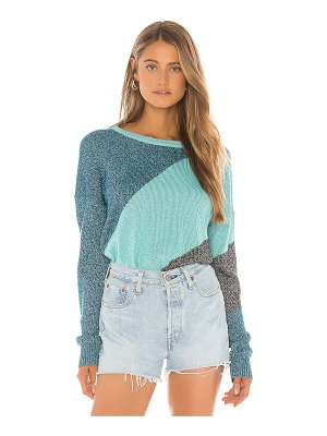 Wildfox tidal wave sydney sweater