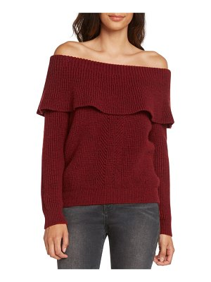 Willow & Clay off the shoulder sweater