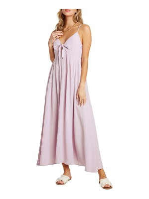 Willow rochelle tie front midi sundress