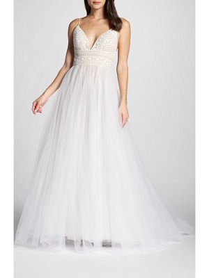 WILLOWBY thistle tulle ballgown