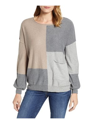 Wit & Wisdom colorblock sweater