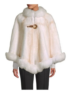 WOLFIE FURS Made for Generations™ Mink & Fox Fur Cape