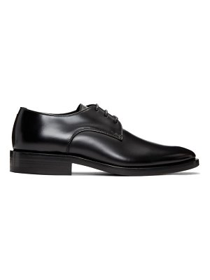 Woman By Common Projects Exclusive Black Leather Derbys