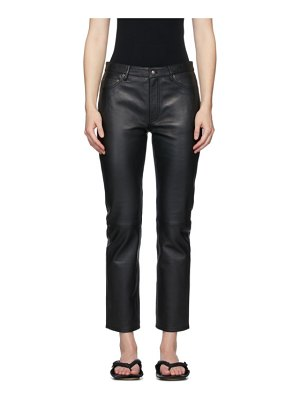Won Hundred sally leather trousers