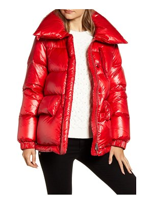 Woolrich alquippa water repellent puffy down coat