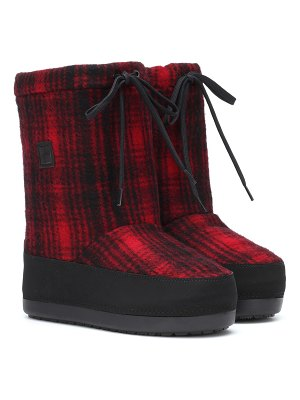 Woolrich Checked Arctic Snow boot