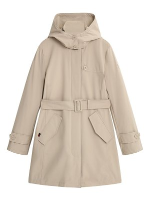 Woolrich fayette belted trench coat