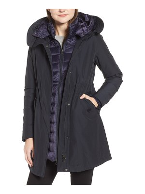 Woolrich long military parka coat