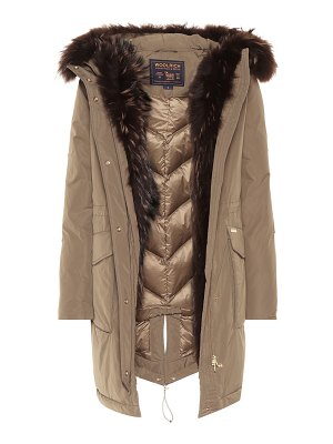 Woolrich Military fur-trimmed parka