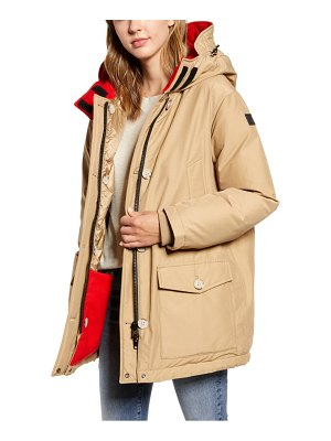 Woolrich reversible water repellent down parka