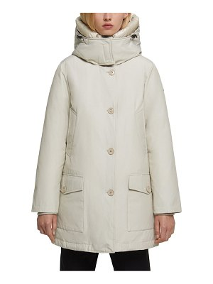 Woolrich water repellent down parka