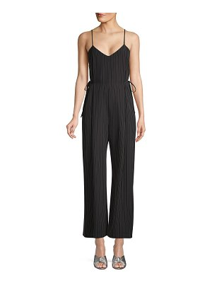 Wythe NY Pinstriped Side-Tie Jumpsuit
