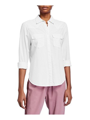 XIRENA Denley Pocket Button-Up Shirt