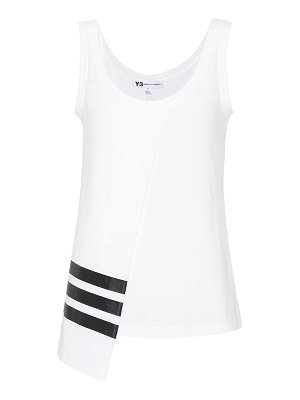 Y-3 cotton-blend tank top
