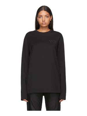Y-3 logo long sleeve t-shirt
