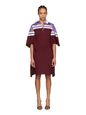 Y-project and Burgundy Striped Polo Dress
