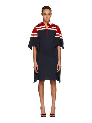 Y-project and Navy Striped Polo Dress