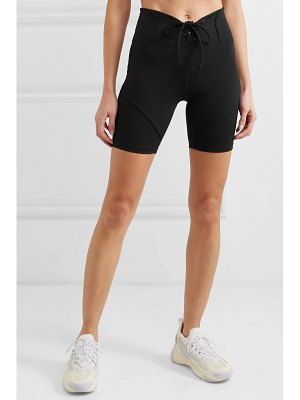 YEAR OF OURS hockey lace-up stretch shorts