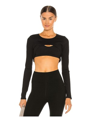 YEAR OF OURS ribbed active shrug