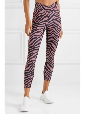 YEAR OF OURS veronica tiger-print stretch leggings