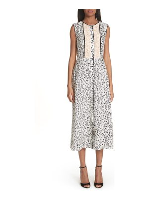 Yigal Azrouel wrap detail pleated dress