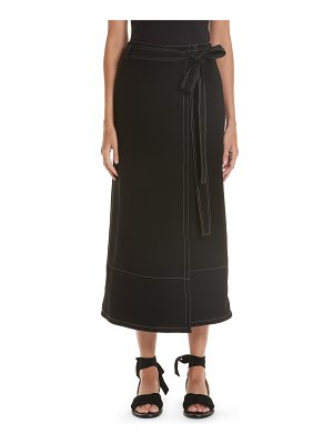 Yigal Azrouel wrap front culottes