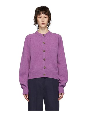 YMC purple ramona cardigan