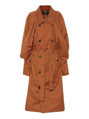 Y/PROJECT Cotton-blend trench coat