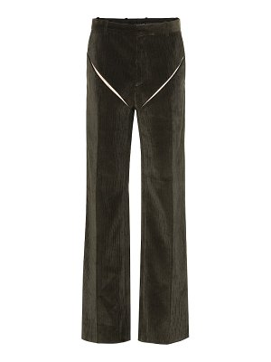 Y/PROJECT high-rise wide-leg corduroy pants