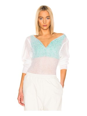 Y/PROJECT Off Shoulder Sweater