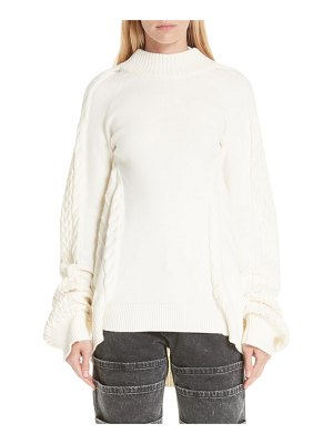 Y/PROJECT oversized sweater