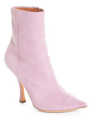 Y/PROJECT suede ankle boot