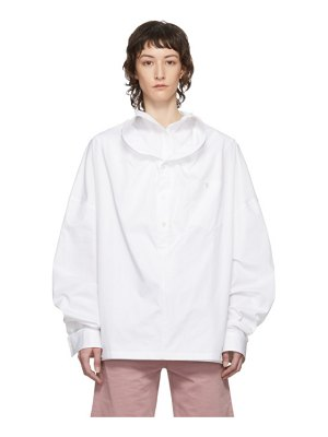 Y/PROJECT white infinity shirt