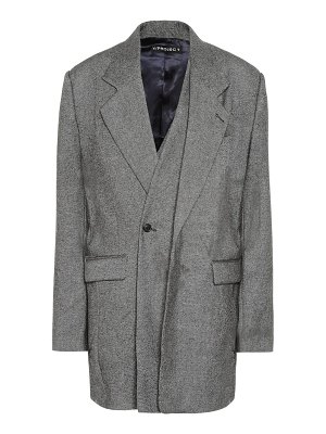Y/PROJECT wool and cashmere blazer