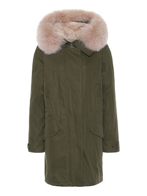 Yves Salomon - Army exclusive to mytheresa – fur-trimmed parka