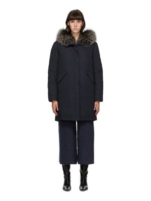 Yves Salomon - Army navy down bachette coat