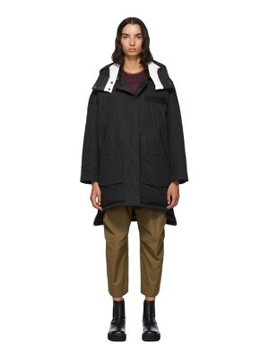 Yves Salomon - Army reversible black down doudoune jacket