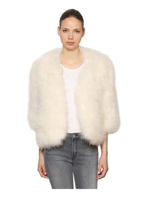 Yves Salomon Feather jacket