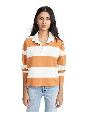 Z Supply the rugby stripe collared shirt