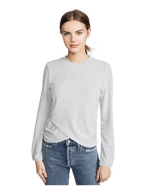 Z Supply the soft spun ruched top