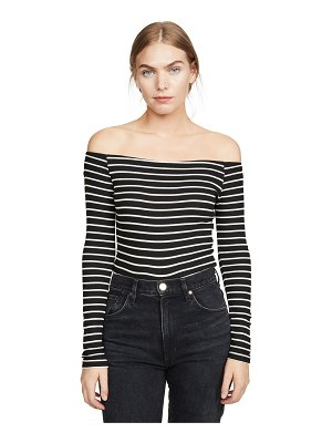 Z Supply the stripe shoulder tee